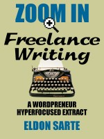 Zoom In Wordpreneur Reloaded Series - Freelance Writing cover